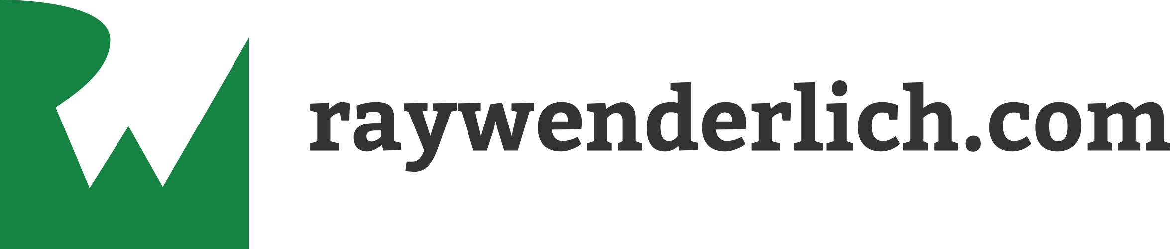 raywenderlich.com, the most popular iOS tutorial site on the Internet
