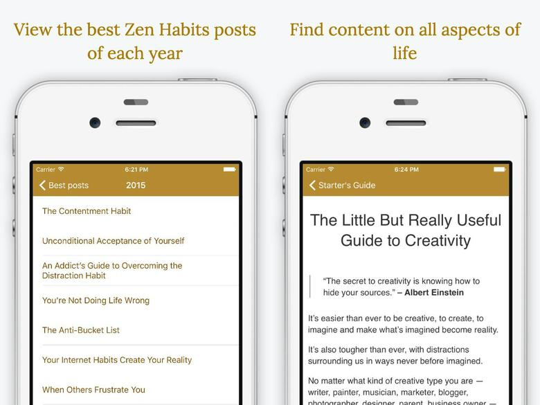 Zen Breath iOS App